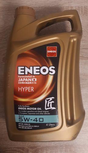 Motorový olej 5W40 - 4l